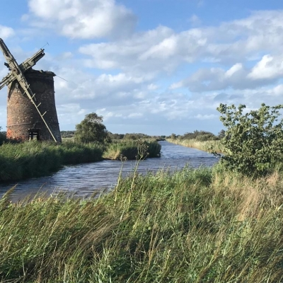 A short walk from Sea Haven - relic windmill