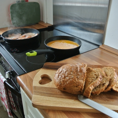 Induction hob (breakfast not included..!)