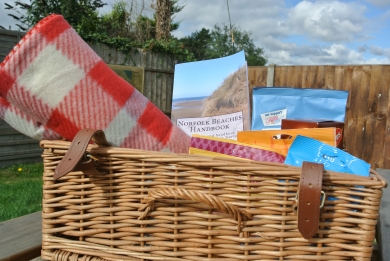 We have a picnic basket with blankets if you ever want to dine alfresco!